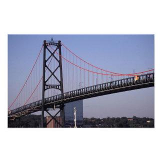Angus L puente de Macdonald, Halifax, Nova Fotografía