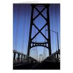Angus L puente de Macdonald, Halifax, Nova Tarjeta