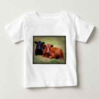 Angus Love - Pair of Cattle Side by Side Tee Shirt