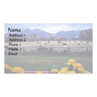 Angus On Pasture Business Card