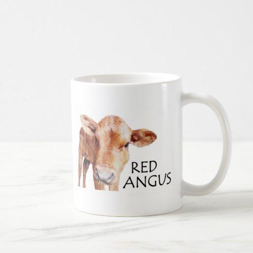 Angus rojo taza