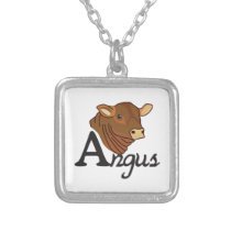Angus Silver Plated Necklace