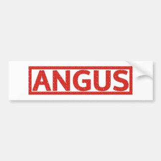 Angus Stamp Car Bumper Sticker