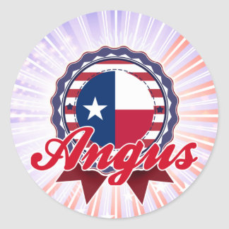 Angus, TX Stickers
