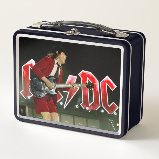 Angus Young | Cochella 2015 | Indio, CA Metal Lunch Box