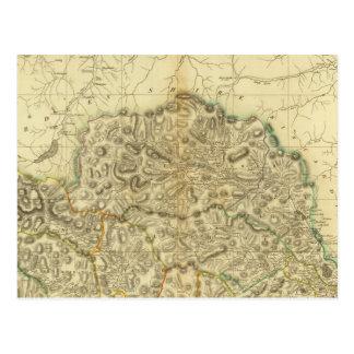 Angusshire del norte postales