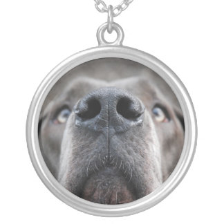 Anhänger mit Dogge Round Pendant Necklace