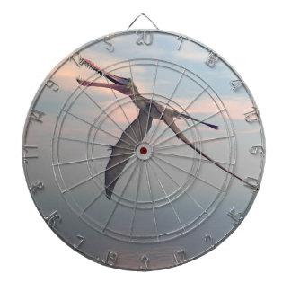 Anhanguera prehistoric bird dart board