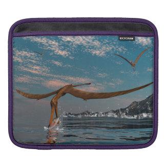 Anhanguera prehistoric bird fishing sleeve for iPads
