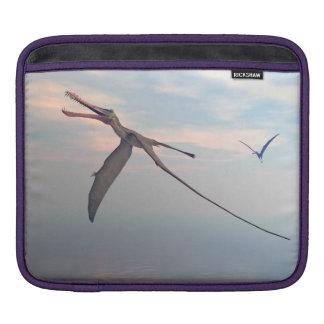 Anhanguera prehistoric birds sleeve for iPads