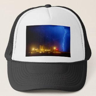 Anheuser-Busch Budweiser Brewery Lightning thunder Trucker Hat