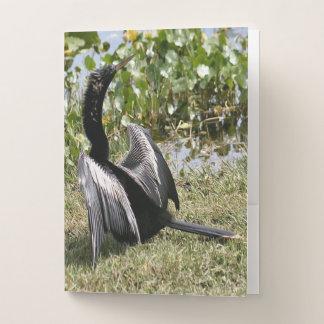 Anhinga Bird Pocket Folders