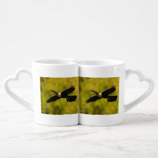 anhinga coffee mug set