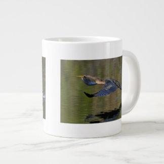 Anhinga Takeoff Giant Coffee Mug