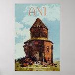 Ani, ciudad antigua de Armenia Posters