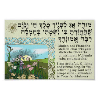 Ani de Modeh - despertar la meditación Poster