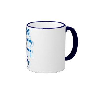 Ani Le'dodi Ve'Dodi Li Blue Mugs