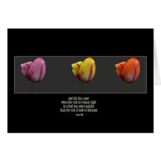 anias_tulips tarjeta de felicitación
