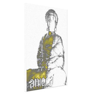 Anicca III Wrapped Canvas Canvas Print