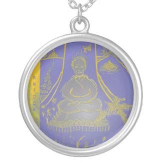 Anicca Meditating Buddha Necklace