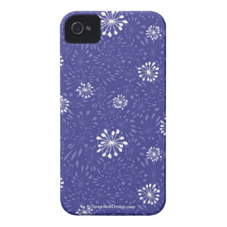 Añil del Agapanthus Case-Mate iPhone 4 Protectores
