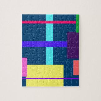 Añil minimalista puzzle