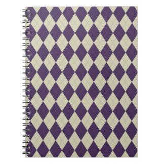 Añil y cuaderno de marfil de Argyle
