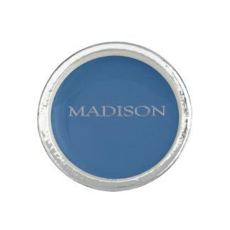 Anillo conocido de encargo de Madison