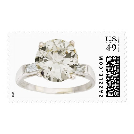 Anillo de bodas del compromiso del diamante envio