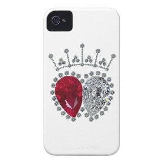 Anillo de compromiso de la chaqueta de punto carcasa para iPhone 4 de Case-Mate