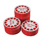 Anillo de corazones juego de fichas de póquer