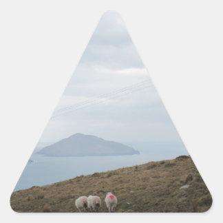 Anillo de Kerry, Irlanda Calcomanías Trianguladas