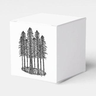 Anillo de la catedral (bosquejo costero de las caja para regalos de fiestas