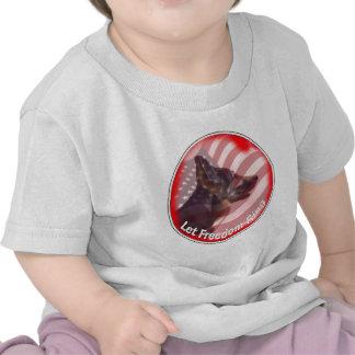 Anillo de la libertad de GSD Camiseta