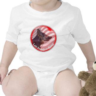 Anillo de la libertad de GSD Trajes De Bebé