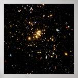 Anillo de la materia oscura en Cl del racimo de la Poster