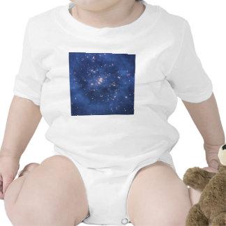 Anillo de la materia oscura en un racimo de la gal trajes de bebé