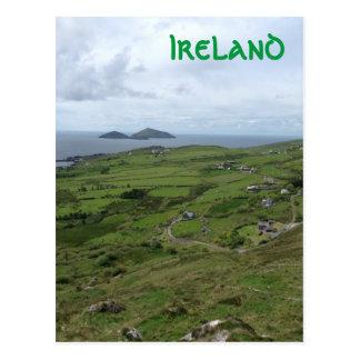 Anillo de la vista al mar del irlandés de Kerry Tarjeta Postal