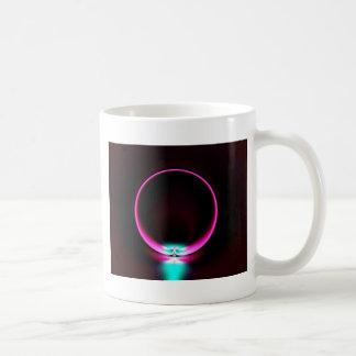 Anillo de neón taza de café