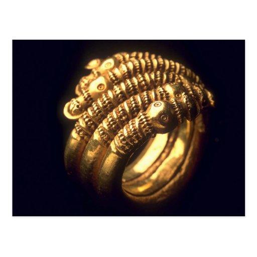 Anillo de oro de Viking Postales