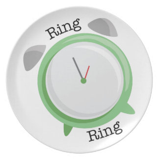 Anillo del anillo plato