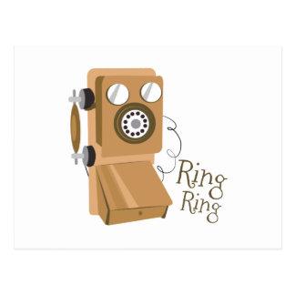 Anillo del anillo postal