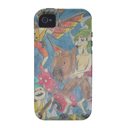 Anillo del Faerie Case-Mate iPhone 4 Carcasas