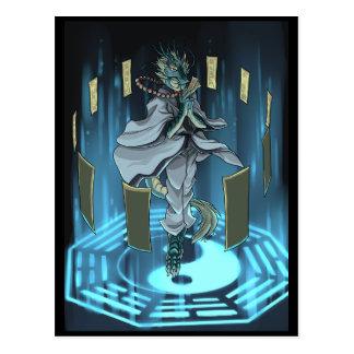 Anillo mágico de Yin Yang Tarjetas Postales