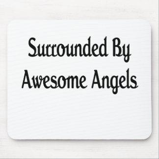 Anillo por ángeles impresionantes tapete de ratones