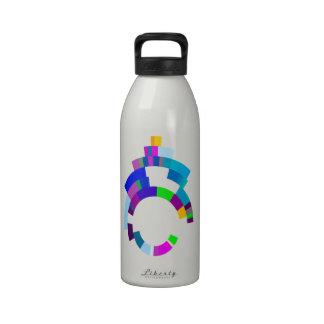 Anillo secreto botella de agua