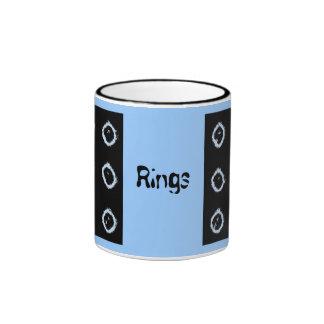 anillos, anillos, anillos taza de café