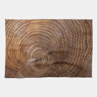 Anillos de árbol toallas de cocina