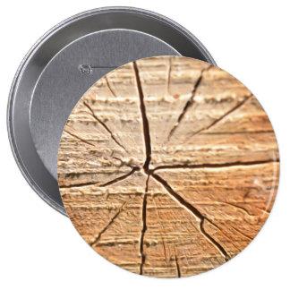 Anillos de árbol pin redondo de 4 pulgadas