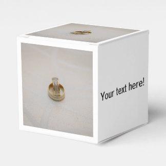 Anillos de bodas cajas para regalos de boda